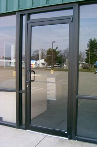 gallery for commercial glass front doors