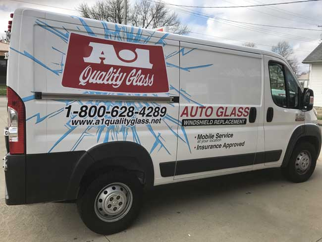 A-1 Quality Glass Mobile Van